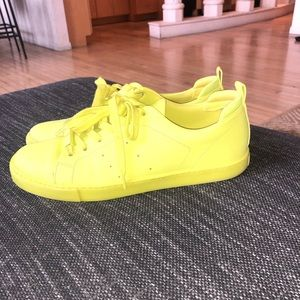 Aldo Neon Yellow Sneakers